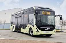 Eco-Friendly Electric Buses - These Buses Are Going to Serve a Bus Route in Gothenburg