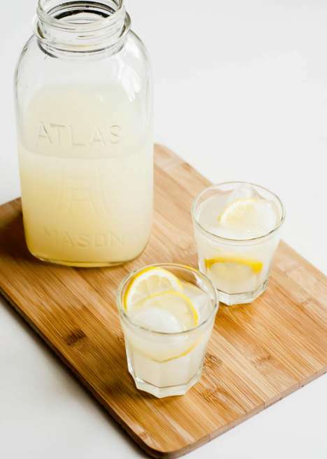 Probiotic Fermented Lemonade - Hello Natural's Healthy Lemon Drink is Filled with Good Bacteria