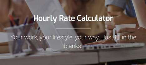 Hourly Quote Calculators - BeeWits's Simple Rate Generator Tool is for Freelance Design Work