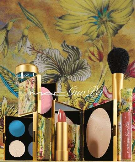 Chinese Couture Cosmetics - The MAC x Guo Pei Collection Boasts Opulent Design Details
