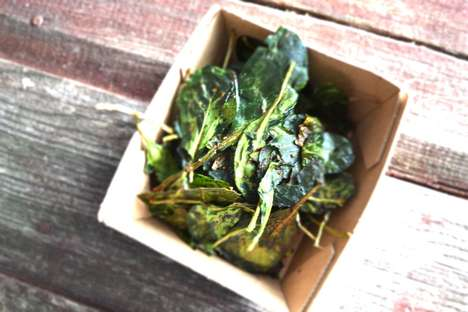 Superfood Spinach Chips - So Fab Food Heats Up a Healthy Chip Recipe with Spices