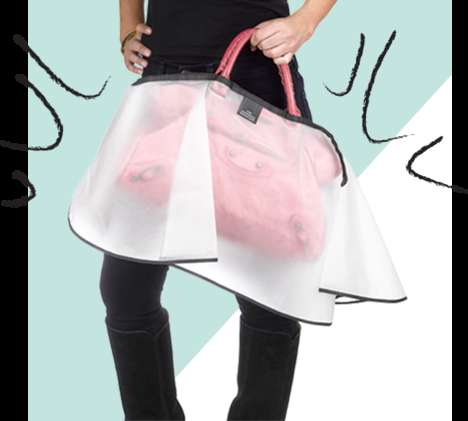 Rain-Resistant Purse Covers - The Handbag Raincoat Can Help Keep Any Purse Dry