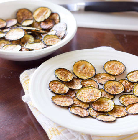 Salty Zucchini Chips - The Wholesome Dish Turns Salt and Vinegar Chips Healthy