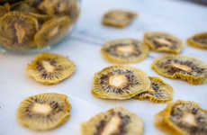 Chewy Kiwi Chips - Thriving on Paleo's Dehydrated Fruit Chips Recipe Only Needs One Ingredient