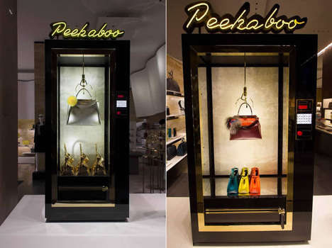 10 Fashion Vending Machines - From Cosmetic Nail Polish Kiosks to Vending Machine Window Displays