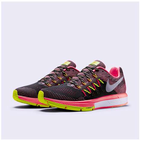 Cushioned Lightweight Runners - The Nike Air Zoom Vomero 10 Provides Speed and Comfort in Style