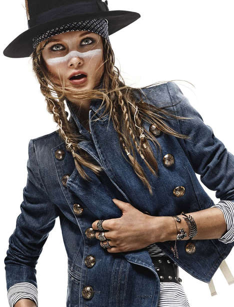 Modern Marauder Editorials - The Vogue Germany Princess Charming Photoshoot is Pirate Themed