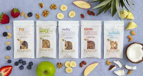 Portion-Controlled Snacks - Single-Serving Nourish Snacks are a Tasty Treat with None of the Guilt