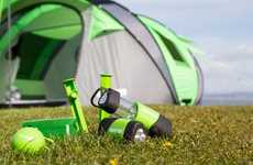 Pop-Up Solar Tents - The Cinch Tent Uses Sunlight To Charge Your Gadgets