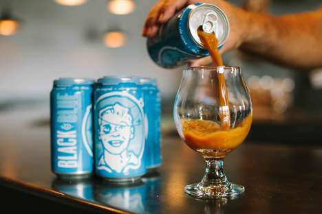 Beer-Flavored Coffees - Black and Blue Delivers the Taste of Beer in an Iced-Coffee on Tap
