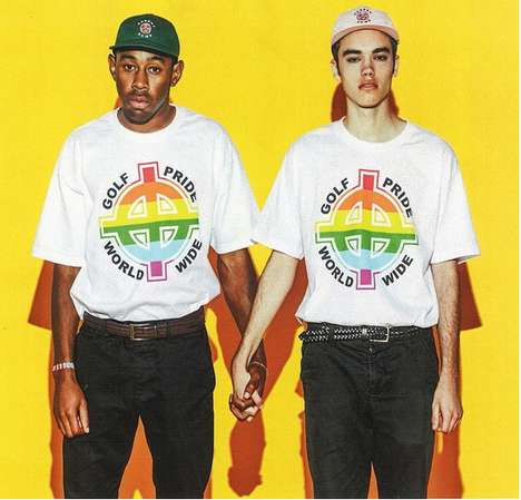 Shocking Activism T-Shirts - Tyler The Creator's New Anti-Homophobia Line Features Political Symbols