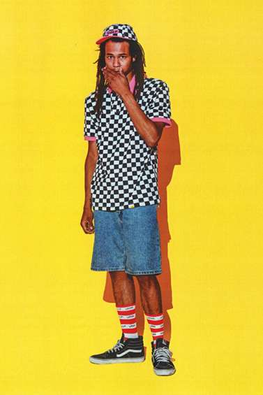 Preppy Punk Lookbooks - The Golf Wang S/S '15 Lookbook Features Vibrant Colors and Prints