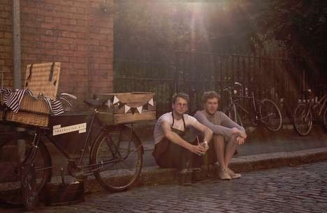 Roving Bicycle Bars - The Travelling Gin Company's Mobile Bar Quenches London's Thirst by Cycle