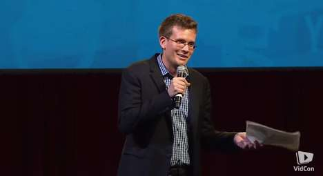 Authentic Online Communities - John Green's YouTube Video Keynote is on Defining Successful Content