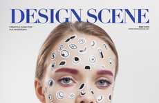 Sticker Makeup Editorials