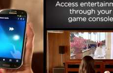 Universal Remote Smartphones - The Logitech Harmony Hub Turns Your Android Phone into Smart Remote