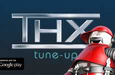 Television-Adjusting Apps - The THX Tune-Up for Android Improves Entertainment Systems Significantly
