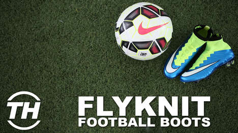 Flyknit Football Boots - Jared Whiteside Highlights the Features of the Latest Nike Soccer Cleats