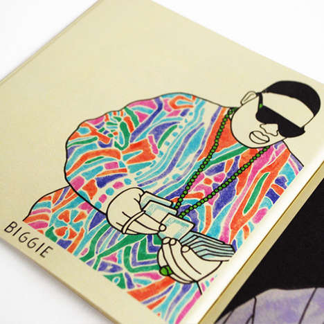 Hip-Hop Coloring Books - The Gangster Doodles Books by Valley Cruise Celebrate Rap Culture