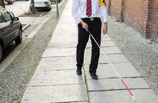 Facial Recognition Walking Canes - The XploR Cane Helps the Blind Track Down Family and Friends