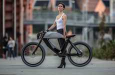 Futuristic Electric Bicycles - Società Piemontese Automobili Designs a Modern and Minimalist Concept