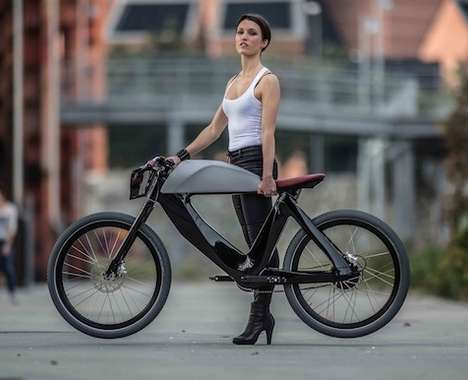 Futuristic Electric Bicycles