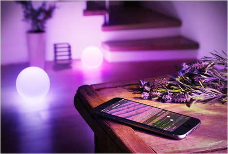 App-Controlled Mood Lights - Elgato's Avea Mood Lights Let Users Transform Any Room From Your Phone