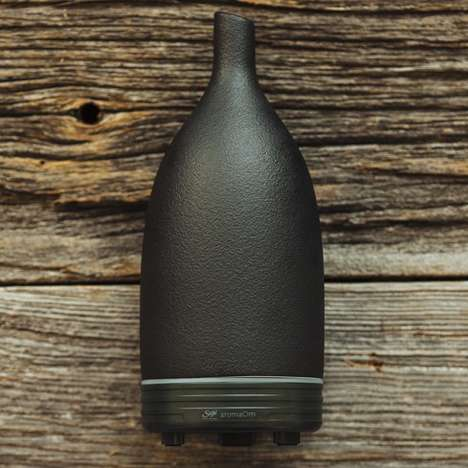 Bottle Aroma Diffusers - The Humidifying Ultrasonic Nebulizer Disperses Scent and Purifies the Air