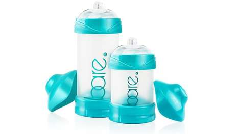 Breast-Mimicking Baby Bottles - The Bare Bottle Addresses Newborn Malnourishment and Stomach Pains