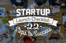 Thriving Startup Tips - This Infographic on Launching Successful Startups Will Help Entrepreneurs