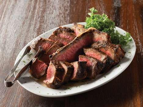 Porterhouse Protein Meals - The Mastro's Steakhouse Menu is a Favorite Among Wall Street Moguls