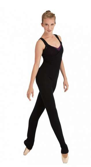 Full-Body Dance Knitwear - The New Capezio Dance Jumpsuit Keeps You Warm and Fashionable in Class