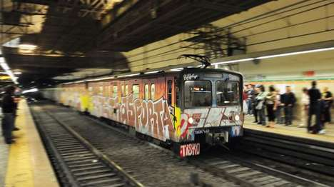 Vandal-Detecting Projects - Project Mousetrap Helps Snap Up Vandals Tagging Sydney Trains
