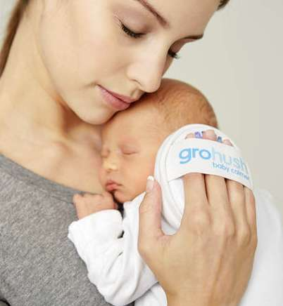 Infant-Soothing Devices - The Gro-Hush Emits a Soft White Noise for a Baby