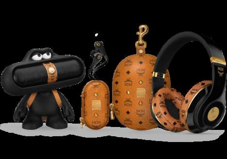 Fashionable Audio Accessories - The MCM x Beats by Dre Collection Features Swank Audio Goods