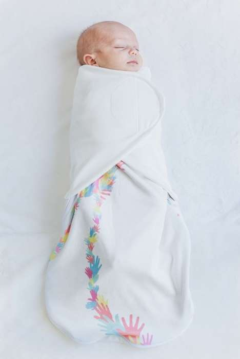 Space Suit Blankets - The Little Lotus Swaddles Are Made with Materials from NASA Apparel