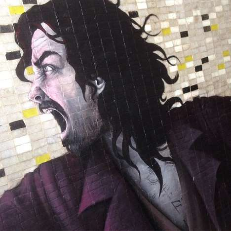 Magical Mural Depictions - This Harry Potter Painting Series by Nab D Reimagines Popular Characters