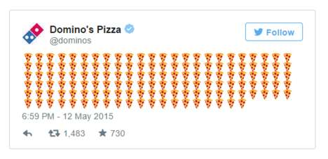 Pizza Emoji Deliveries - Domino's is Allowing Customers to Order Pizza Using a Beloved Emoticon