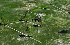 Tree-Planting Drones - BioCarbon Engineering's Reforestation Plan Includes Multipurpose UAVs
