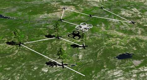 Tree-Planting Drones - BioCarbon Engineering's Reforestation Plan Includes Multipurpose UAVs