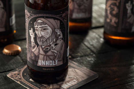 Mythical Microbrewery Branding - The Coppertail Brewing Co Boasts Packaging That Tells a Story