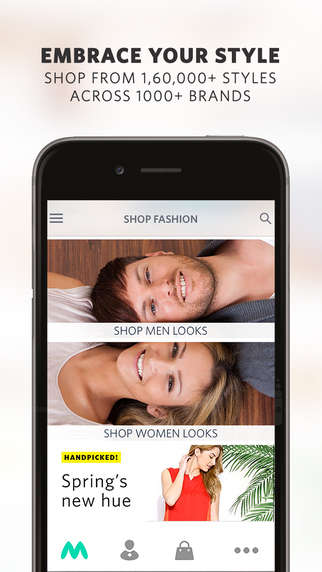 App-Only Fashion Retailers - Consumers Will Soon Only Make Purchases Through Myntra by App