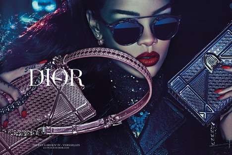Songstress Couture Ads - This Rihanna Dior Campaign Highlights Youthful and Luxe Staples