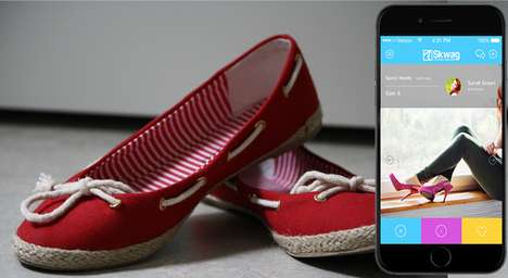 Shoe Swap Platforms - The Skwag App Lets You Trade Old and New Pairs with Footwear Fanatics Nearby