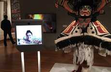 Gallery-Roaming Robots - These Moving Telepresence Robots Let Art Lovers Explore Museums Remotely