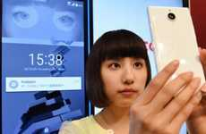 Iris-Scanning Smartphones - The Fujitsu Arrows NX F-04G Smartphone Features Iris Scanning Security