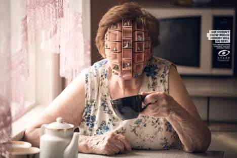 Surreal Alzheimer Ads - The Peruvian Association of Alzheimer's Disease Visualizes Memory Loss