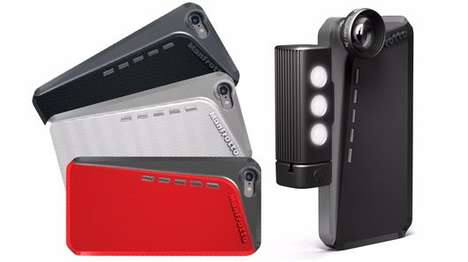 Photo-Enhancing Smartphone Cases - The Manfrotto Klyp+ is Designed For the iPhone 6 & iPhone 6 Plus