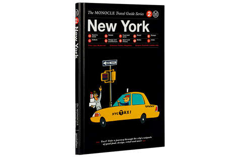 Artistic Travel Guides - The Monocle Travel Guides Show You the City from the Perspective of a Local