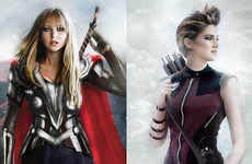 Gender-Bending Superheroes